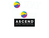 Holiday Shores and Ascend Hotel Collection logo
